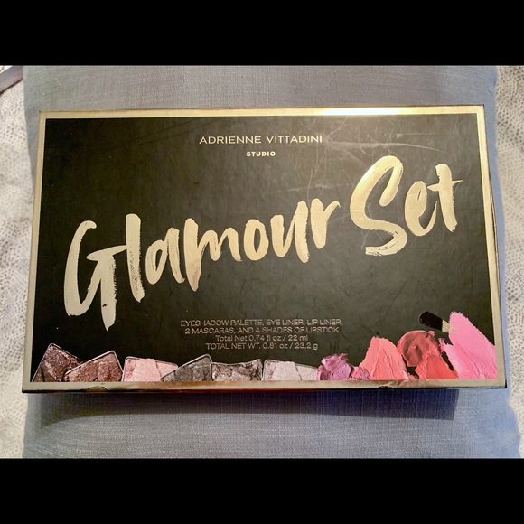 NIB Adrienne Vittadini 9pc glamour set